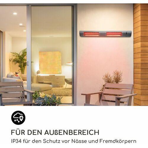 BLUMFELDT Gold Bar 3000 Infrarotheizstrahler 3000W Wandmontage IP34 - Blumfeldt