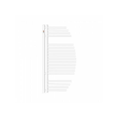 Mert-radiator - Design Badheizkörper AYCAN Weiss Chrom Heizung Bad