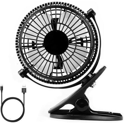 BARES Duo Mishu Fan Mini Clip USB Fan for Desk USB Mini Fan Desk Fan with