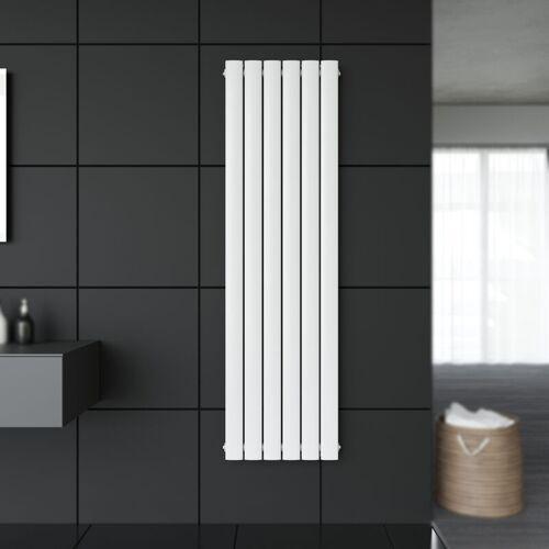 SONNI Design Flach Heizkörper 1600 x 462 mm Weiß Badheizkörper