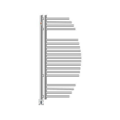 Mert-radiator - Elektro Badheizkörper Design AYCAN Weiss Chrom