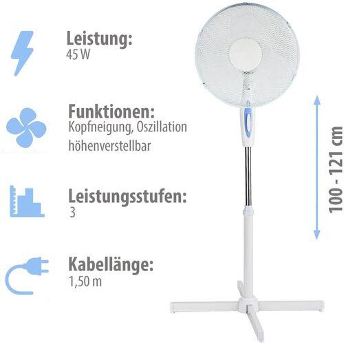 GRAFNER ® Standventilator mit Oszillationsfunktion - Grafner