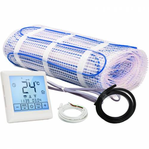 Warm-on - Heizmatten Set BZ-100 touch / Thermostat touch - 12,0 m²