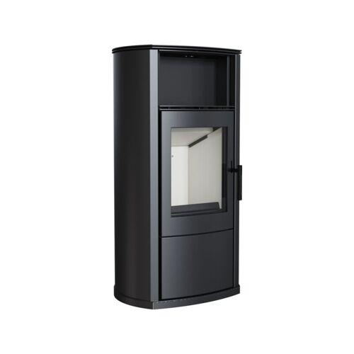 Kratki Kaminofen EPSILON 8 kW Holzofen Ofen Stahl-Schwarz Kamin Ja Nein