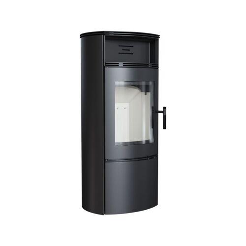 Kratki Kaminofen FALCON W 10 kW Holzofen Ofen Stahl-Schwarz Kamin Ja