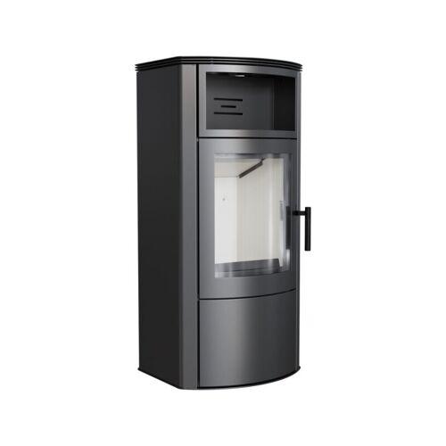 Kratki Kaminofen TITAN 11 kW Holzofen Ofen Stahl-Schwarz Kamin Holz Ja