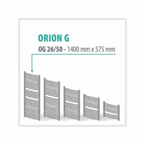 TRMX Orion-G Weiß - Badheizkörper Handtuchheizkörper Handtuchheizung