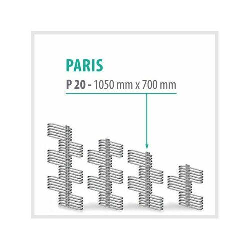 Trmx - Paris Weiß - Badheizkörper Handtuchheizkörper Handtuchheizung