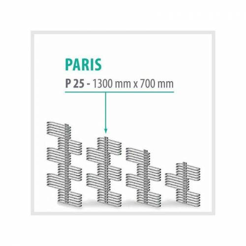 TRMX Paris Weiß - Badheizkörper Handtuchheizkörper Handtuchheizung   Höhe: