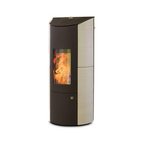 OLSBERG Pelletofen Olsberg Levana Aqua 8 kW - Ausführung: Keramik Caffe Freddo