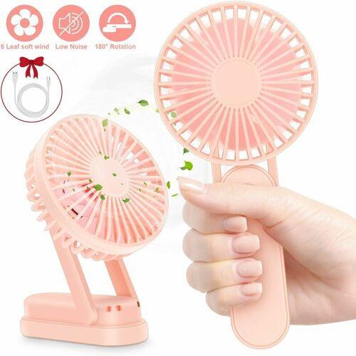 BARES Tragbarer Mini-Lüfter, Pink
