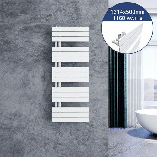SONNI Design Heizkörper Flach 1314 x 500 mm Badheizkörper