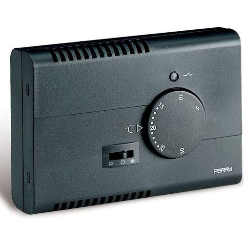PERRY Thermostat für elektronische Wand schwar cm 7,5x2,9x11,15 1TPTE122/A