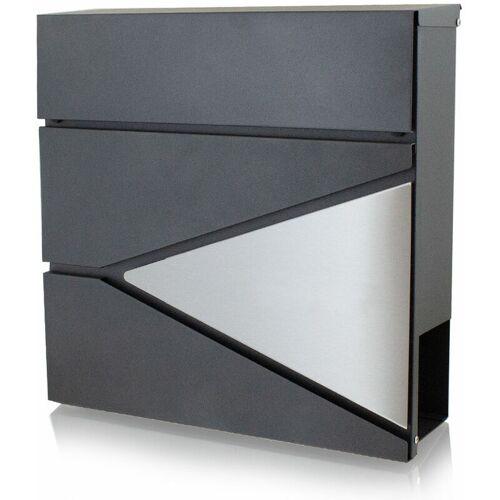 BITUXX Design Briefkasten 16993 Wandbriefkasten Hausbriefkasten Postkasten mit