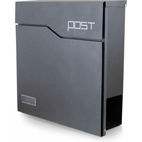 BITUXX Design Briefkasten 17340 Wandbriefkasten Hausbriefkasten Postkasten