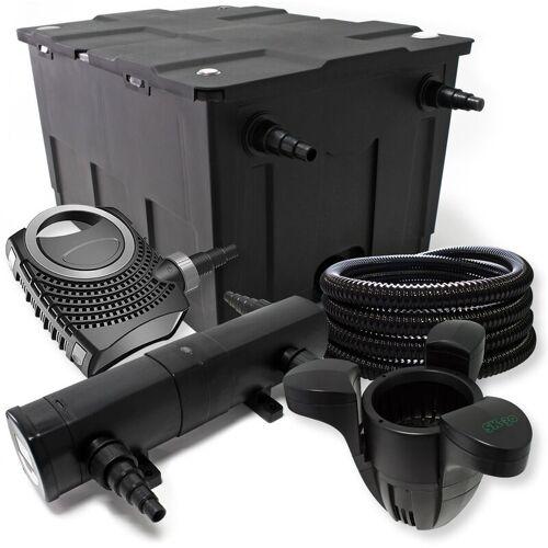 Wiltec - Filter Set aus Bio Teichfilter 60000l, 18W UVC Klärer, 80W