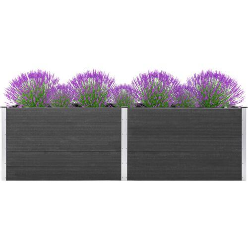 Vidaxl - Garten-Hochbeet 300 x 50 x 91 cm WPC Grau