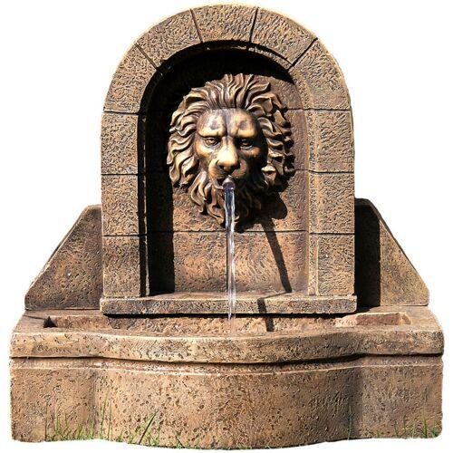STILISTA® Gartenbrunnen, Löwenkopf, 50 x 54 x 29 cm
