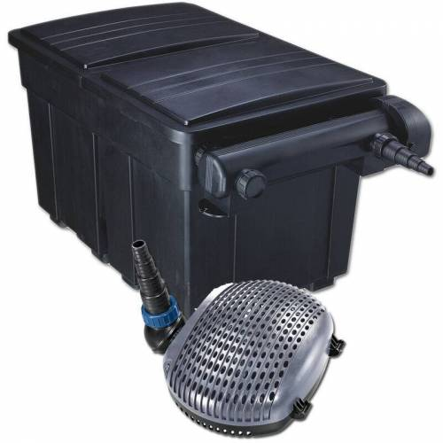 JEBAO Teichfilter Kit UBF 18000, UV-C 36 W, Pumpe XOE 8000