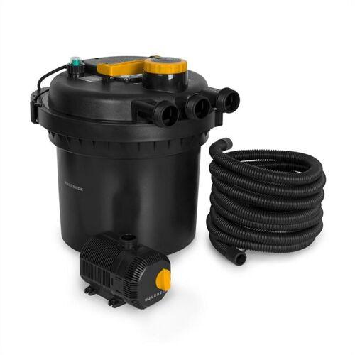 Waldbeck - Aquaklar Teichdruckfilter-Set 11W UV-C Klärer 35W Pumpe 5 m