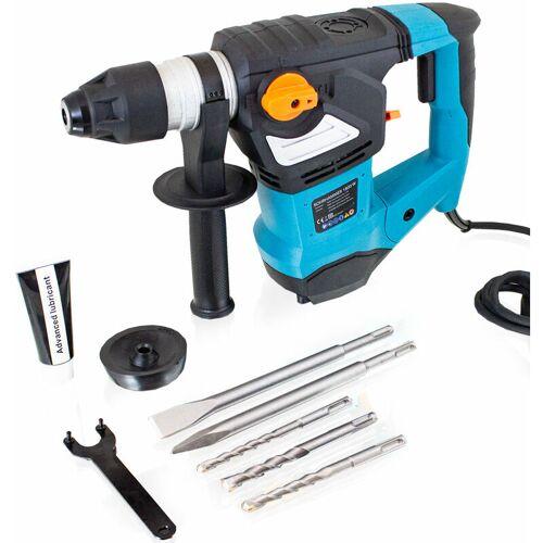 Bituxx - 1800W Schlagbohrmaschine Bohrhammer Schlagbohrer Meißelhammer
