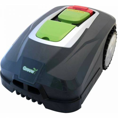 Grouw Mäh Roboter M900 mit App Rasenmäher bis 900 qm Rasen