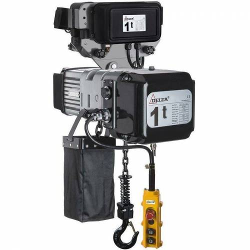 DELTA Elektrischer Kettenzug SG DTD 400 Volt mit elektrischer Laufkatze