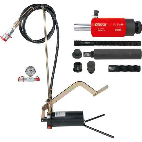 Kstools - KS TOOLS Hydraulik-Einheit 22t, mit Hydraulik-Pumpe und