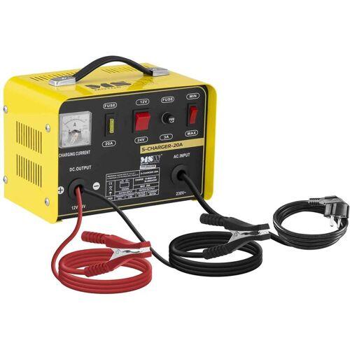 MSW Autobatterie Ladegerät Kfz Pkw Ladegerät Batterie 12 24 V 8 12 A Auto