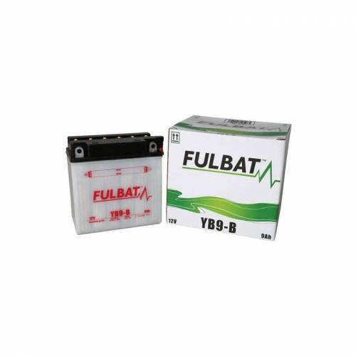 FULBAT Motorradbatterie YB9 B-12V / 9Ah