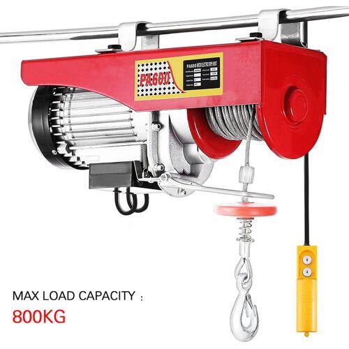 OOBEST Elektro-Seilzug Elektroseilzug Hebezug elektrische Seilwinde