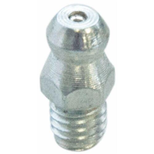 Select Gerader Schmiernippel M8x1,25 aus verzinktem Stahl (Mindestmenge von 10