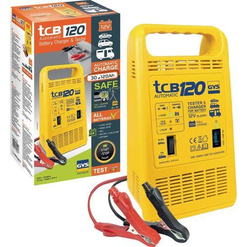 GYS - Batterieladegerät TCB 120 12V 30-120Ah / Ladestrom 3,5-7,0A /