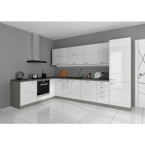Küchen Preisbombe - Küche Bianca Ecke I 210x330 cm Küchenzeile in