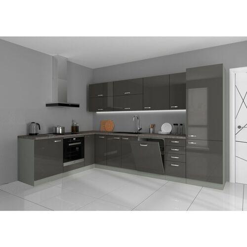 Küchen Preisbombe - Küche Bianca Ecke II 210x330 cm Küchenzeile in