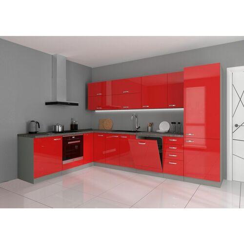 Küchen Preisbombe - Küche Bianca Ecke III 210x330 cm Küchenzeile in