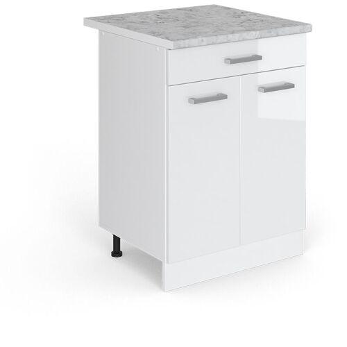 VICCO Schubunterschrank 60 cm Küchenzeile Unterschrank R-Line - Vicco