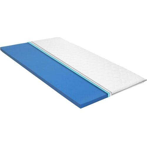 VIDAXL Matratzenauflage viskoelastischer Memory-Schaum 6cm 100x200cm