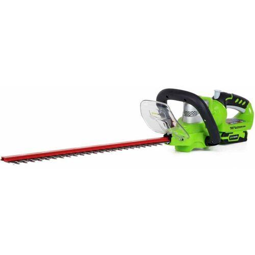 GREENWORKS Heckenschere Deluxe G24HT57 ohne 24 V Batterie 2200107 - Greenworks