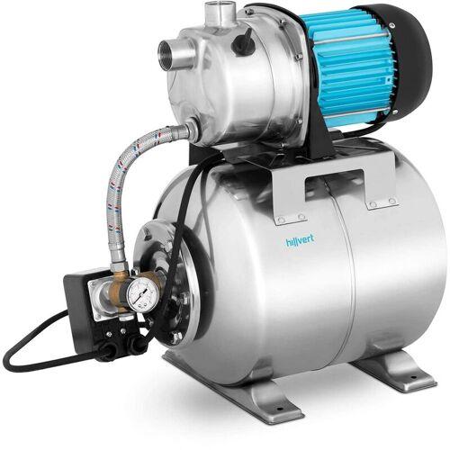 HILLVERT Hauswasserwerk 3500 L H 1200 Watt Wasserpumpe Gartenpumpe Pumpe