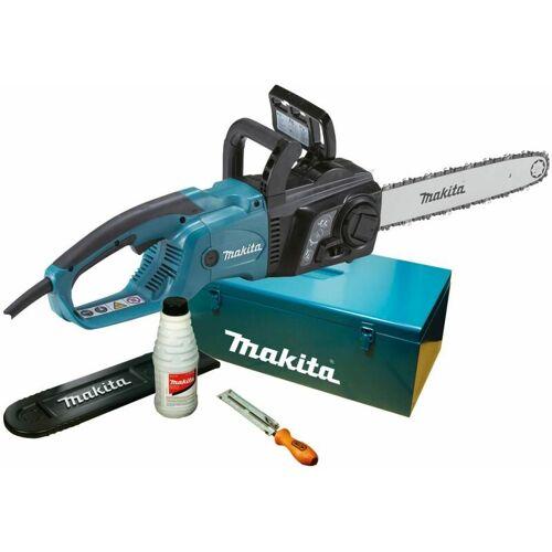 Makita Elektro-Kettensäge UC3551AK 35 cm mit Zubehörim Metallkoffer