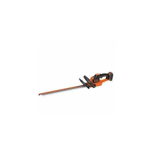 DeWalt Black and Decker - Akku-Heckenschere 18V 2Ah Li-Ion 50cm - BDHT185ST1 -