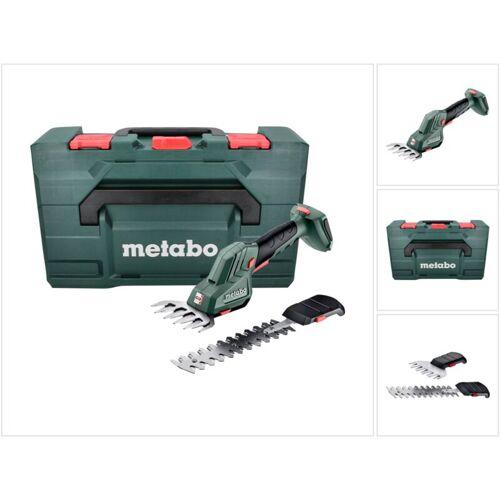 Metabo SGS 18 LTX Q Akku Gras und Strauchschere 18 V + metaBOX (