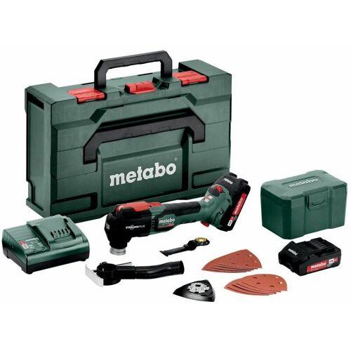 Metabo Akku-Multitool MT 18 LTX BL QSL, metaBOX 145 L, 18V 2x2Ah Li-Ion