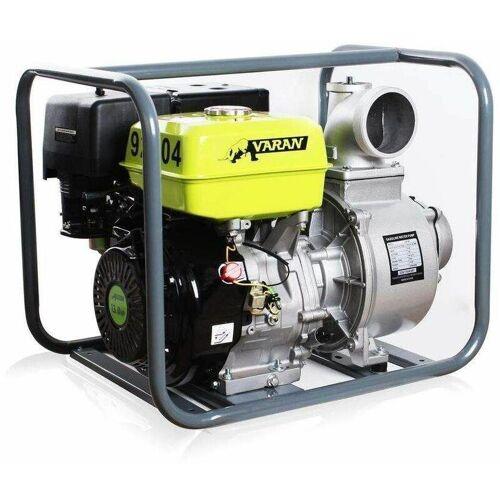 Varan Motors - 92704 Benzinwasserpumpe 4'' 90m³/h 13PS Benzinmotorpumpe