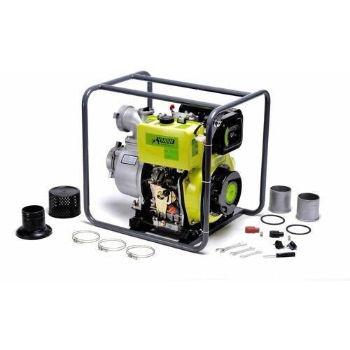 """Varan Motors - 92707 Wasserpumpe Diesel Motorpumpe 4"""" 418cc 10PS,"""