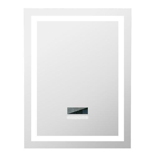 OOBEST Anti-fog Badspiegel Wandspiegel Bluetooth Lautsprechern Touchschalte