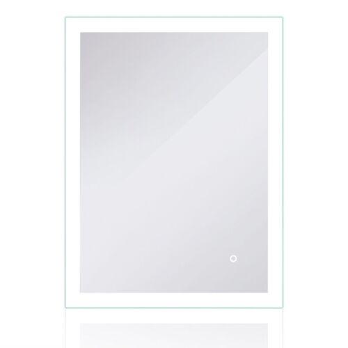 WYCTIN LED Badezimmerspiegel 80*60cm Badspiegel Wandspiegel Lichtspiegel