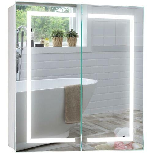 MOOD LED beleuchteter Badezimmer Spiegelschrank, 6500K, TÜV geprüft,