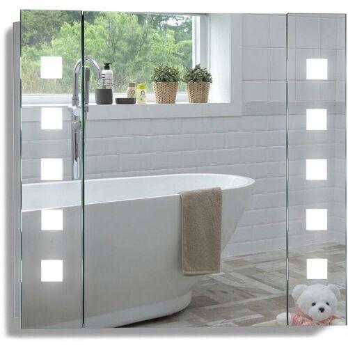 MOOD LED beleuchteter Badezimmer Spiegelschrank mit Licht